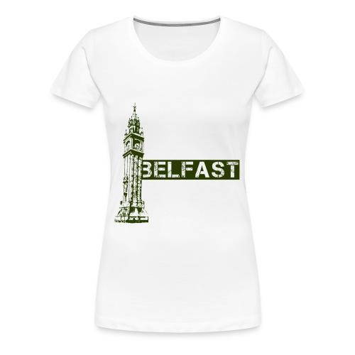 belfast_albertclock - Women's Premium T-Shirt