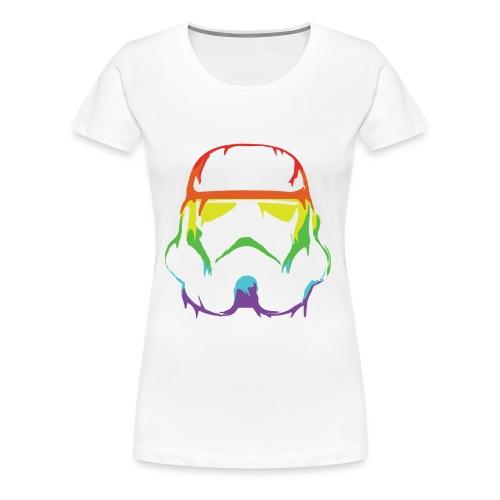 Pride Trooper - simple - Naisten premium t-paita