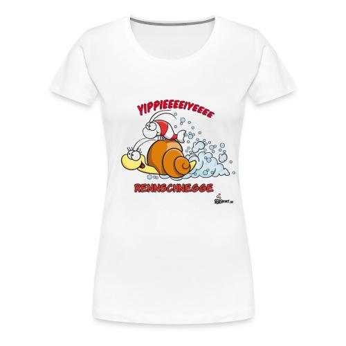 rennschnegge - Frauen Premium T-Shirt