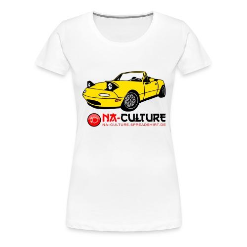 nac_gro_old_gelb - Frauen Premium T-Shirt