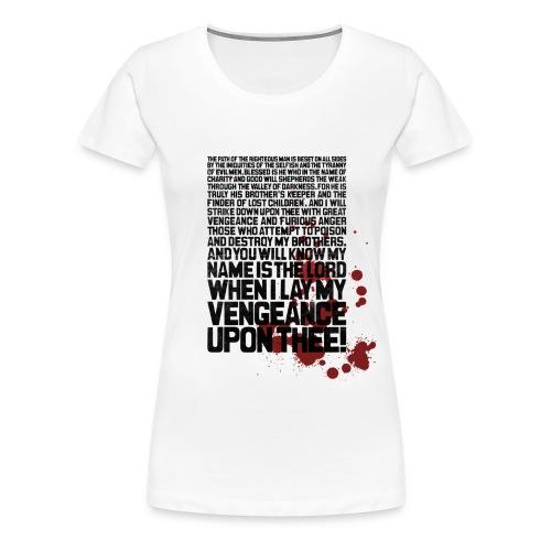 Bloody Ezekiel 25 17 - Women's Premium T-Shirt