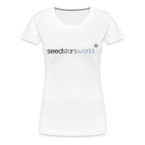 seedstarsworld logo big png - Women's Premium T-Shirt