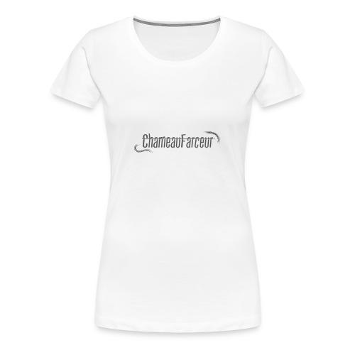 logo site web png - T-shirt Premium Femme