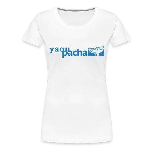 yaqupacha logo vektor - Frauen Premium T-Shirt