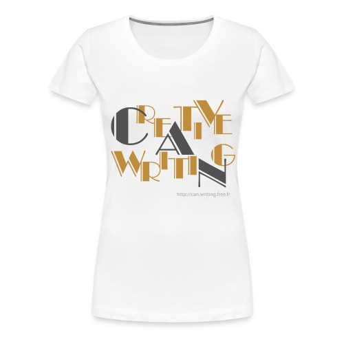 cw logo black - Women's Premium T-Shirt