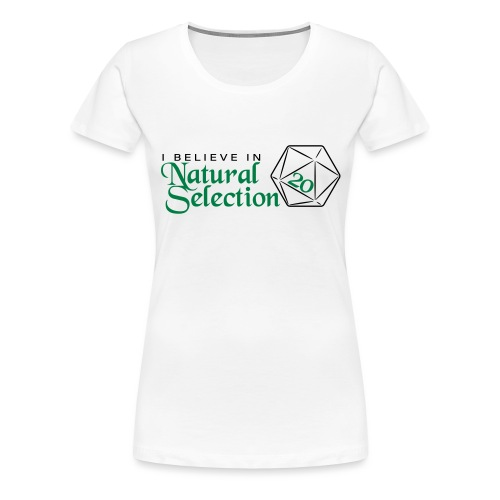 Natural Selection - 2 - Women's Premium T-Shirt