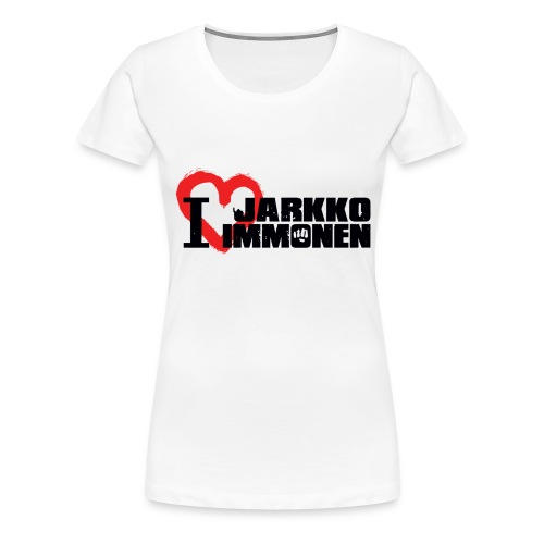 I Love Jarkko Immonen - Naisten premium t-paita