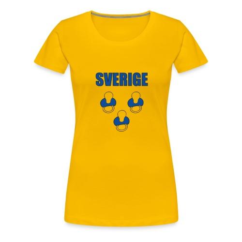 Sverige - Tuttipaita - Naisten premium t-paita