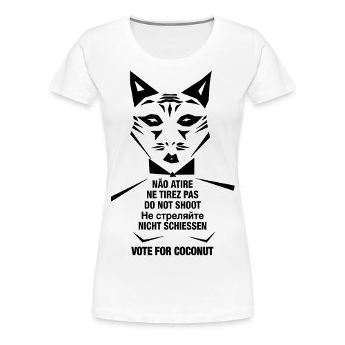 Do not shoot - Frauen Premium T-Shirt