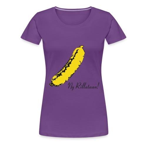 nyrillataanwarhol - Naisten premium t-paita