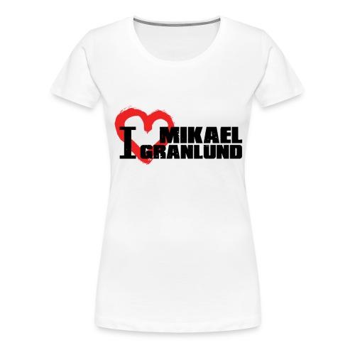 I Love Mikael Granlund - Naisten premium t-paita