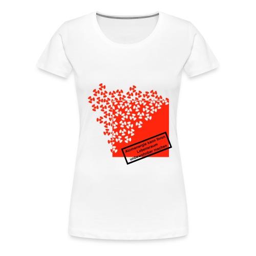 Atomenergie - Frauen Premium T-Shirt
