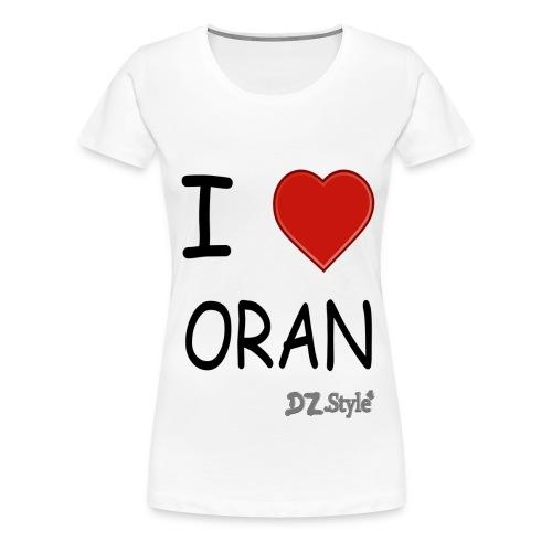 oran - T-shirt Premium Femme