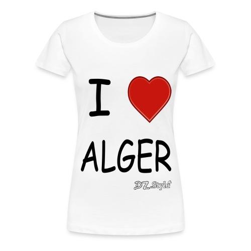 alger - T-shirt Premium Femme