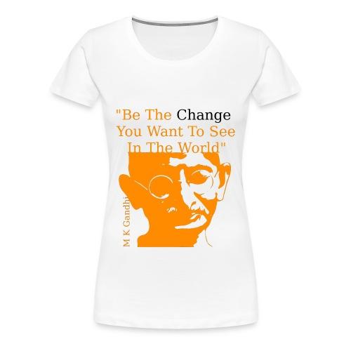 changeorange e - Women's Premium T-Shirt