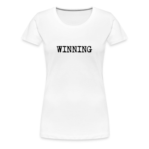 winning - Women's Premium T-Shirt