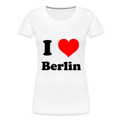 love berlin - Frauen Premium T-Shirt