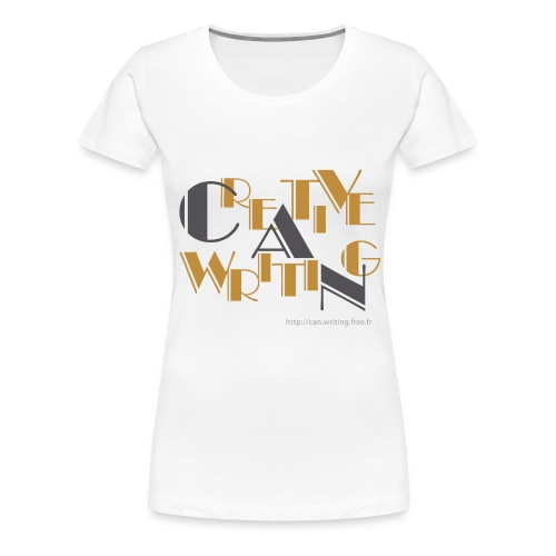 cw logo black - Women's Premium T-Shirt