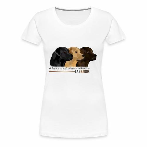 Labrador - T-shirt Premium Femme
