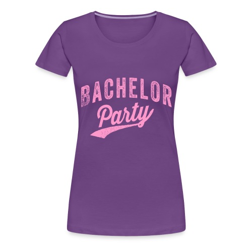 Bachelor Party roze - Vrouwen Premium T-shirt