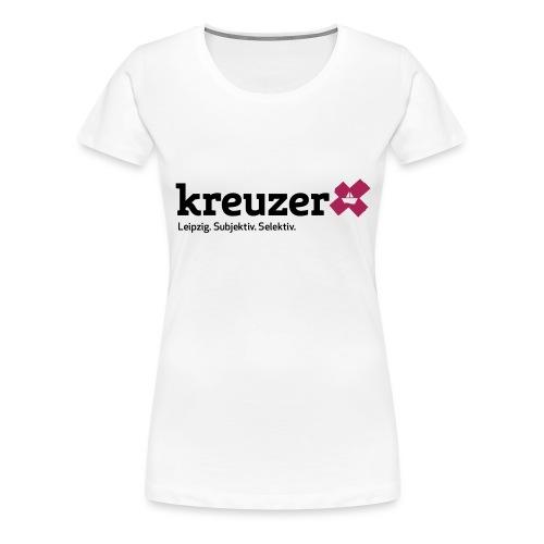 kreuzer Logo - Frauen Premium T-Shirt