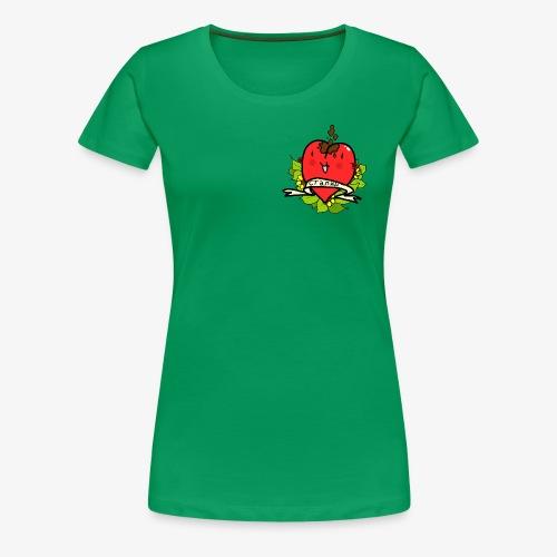 Soviet Heart - Premium-T-shirt dam
