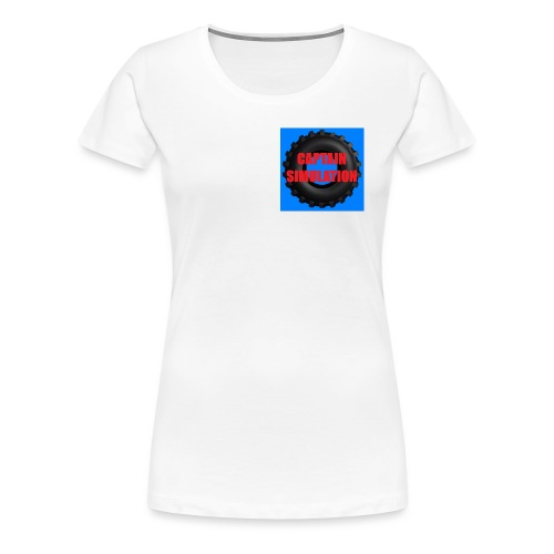 Captain Simulation - Women's Premium T-Shirt