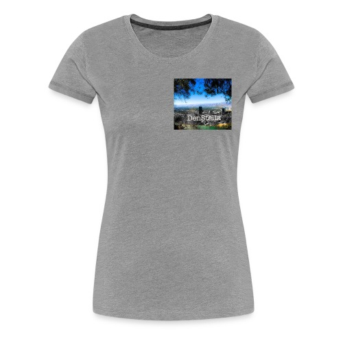 Denstella - Dame premium T-shirt