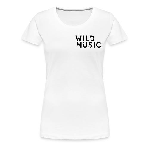 Wild Music Logo - Camiseta premium mujer