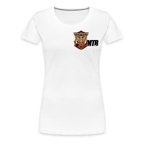 vector fod boar mtb master - Women's Premium T-Shirt