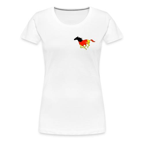 Galoppo Germania - rilievo - Maglietta Premium da donna