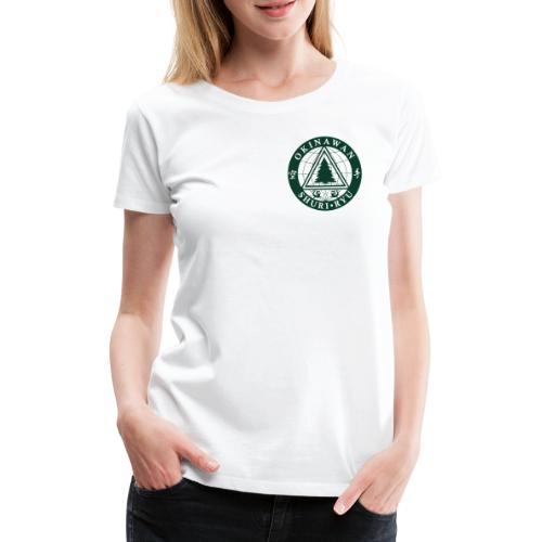 Klubmærke Traditionel placering - Dame premium T-shirt
