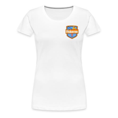 Fiskerne - Dame premium T-shirt