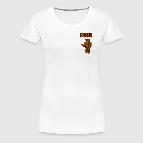 DigginChickin - Women's Premium T-Shirt