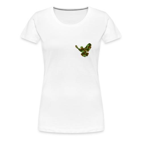 friedenstaube - Frauen Premium T-Shirt