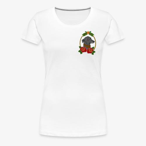Blue Greyhound - Women's Premium T-Shirt