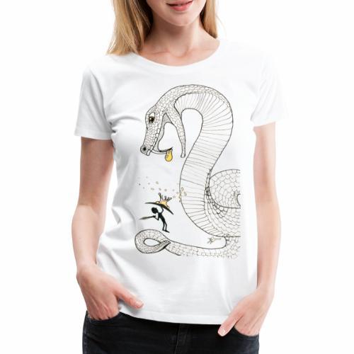 Poison - Combat contre un serpent venimeux géant - T-shirt Premium Femme