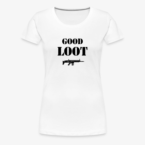 Good Loot Geschenk Geschenkidee - Frauen Premium T-Shirt
