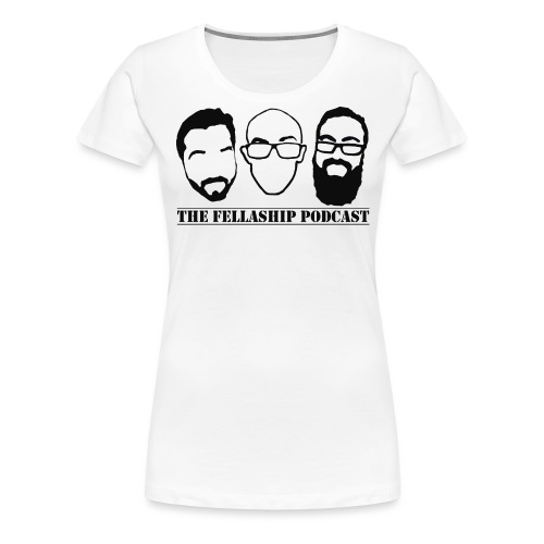 The Fellaship podcast logo - Women's Premium T-Shirt