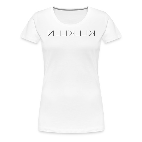 KLLKLLN Black Logo - Women's Premium T-Shirt