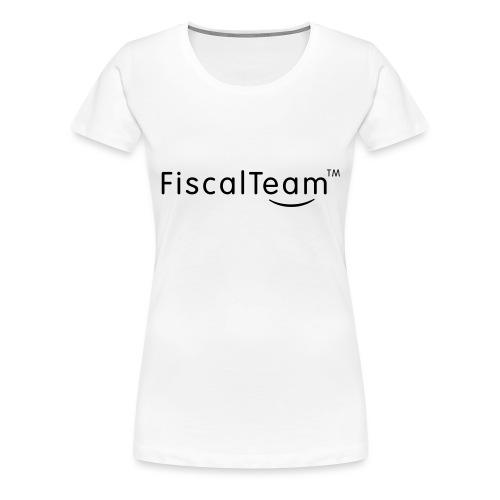 Teddy BlackLogo - T-shirt Premium Femme