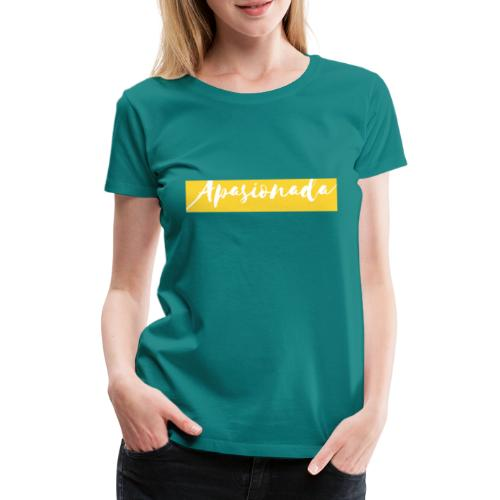 Colorful Amarillo- apasionada - Camiseta premium mujer