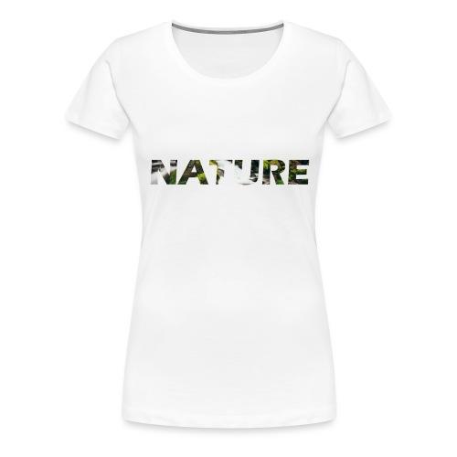Nature - Vrouwen Premium T-shirt