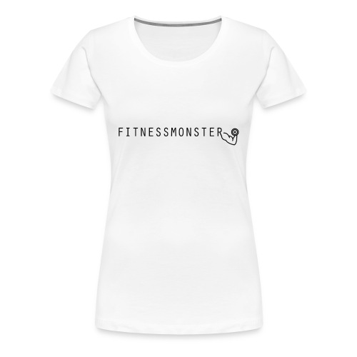 Fitnessmonster - Frauen Premium T-Shirt