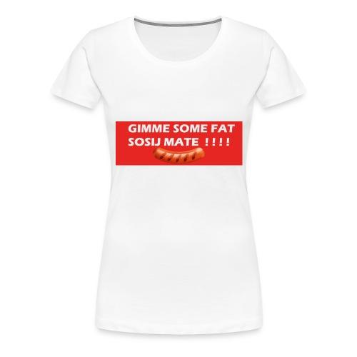 SOSIJ - Women's Premium T-Shirt