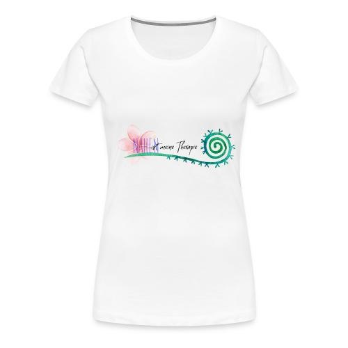 Nähen ist meine Therapie - Frauen Premium T-Shirt