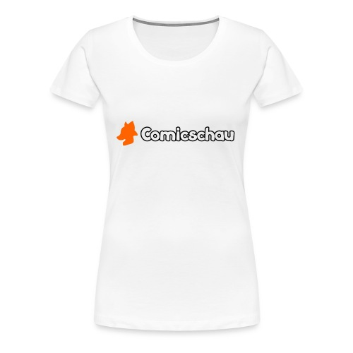Comicschau inkl. Text - Frauen Premium T-Shirt