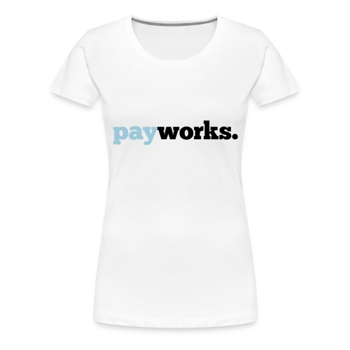 payworks_logo_outlines - Frauen Premium T-Shirt