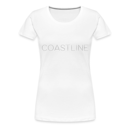 Coastline Bottle - Premium-T-shirt dam