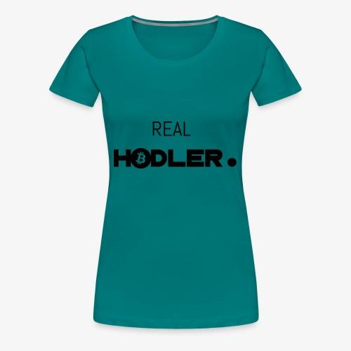 HODL-real-btc-b - Women's Premium T-Shirt